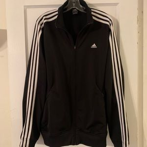 Vintage 90s Adidas Classic Track Jacket Sz L